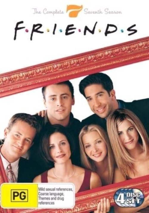 Friends - Season 7 on DVD