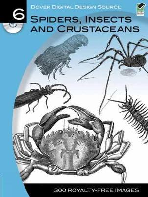 Spiders, Insects and Crustaceans by Dover Publications Inc image