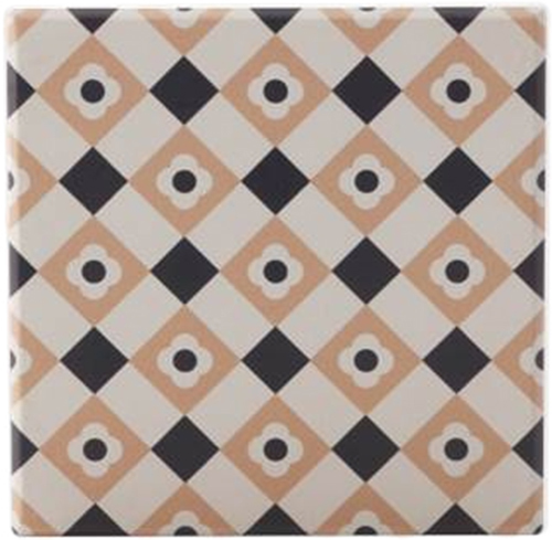 Maxwell & Williams Medina Ceramic Square Tile Coaster | at