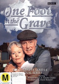 One Foot In The Grave - Complete Series 6 (2 Disc Set) on DVD image
