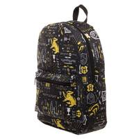 Harry Potter: Hufflepuff - Icon Print Backpack