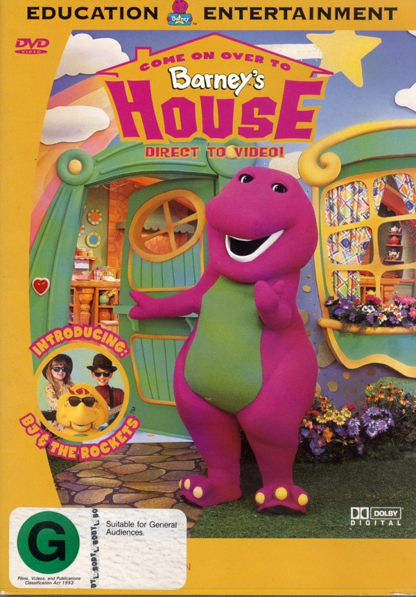 Barney - Come On Over To Barney's House on DVD image
