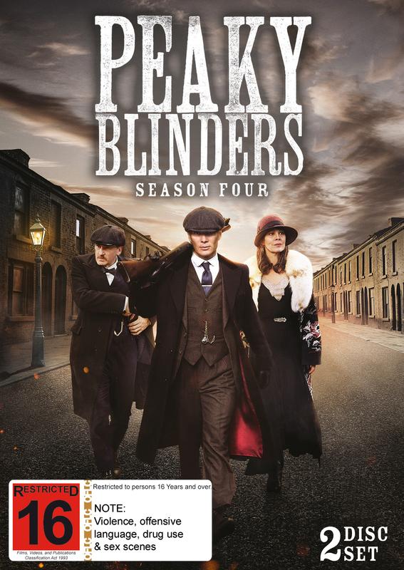 Peaky Blinders - The Complete Season 4 on DVD