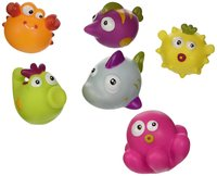 Escaboo: Sea Animals Squirters - (Set of 6)