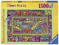 Ravensburger : On Our Way To Party Puzzle 1500Pc