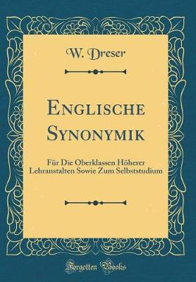 Englische Synonymik by W Dreser