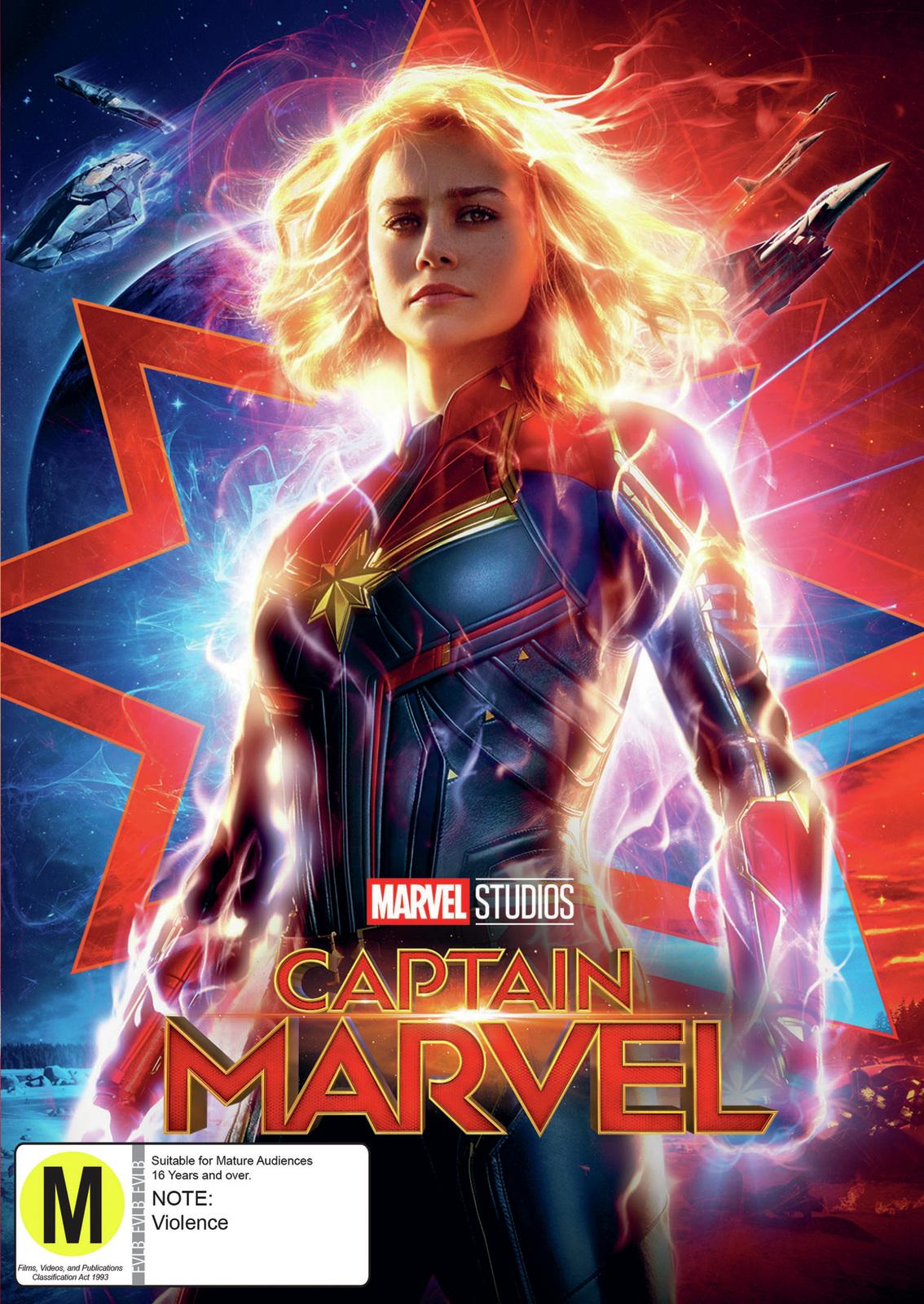Captain Marvel on DVD image
