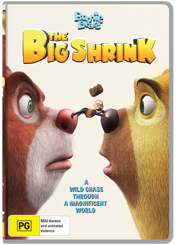 Boonie Bears - The Big Shrink on DVD