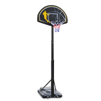 Ape Style Portable & Telescopic Adjustable Basketball Hoop Stand System (2.45m-3.05m)