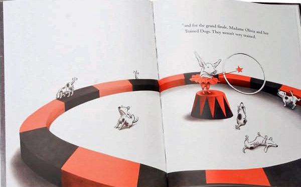 Olivia Saves the Circus by Ian Falconer image