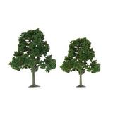 "JTT Scenic Deciduous Trees 3.5""-4"" (4 pk) - H0 Scale"