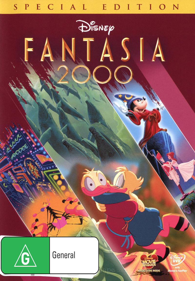 Fantasia 2000 - Special Edition on DVD image
