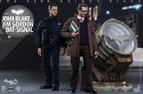 "Batman Dark Knight Rises - Blake, Gordon and Bat Signal 12"" Set"
