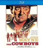 The Cowboys on Blu-ray