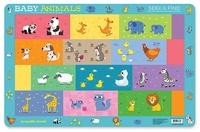 Crocodile Creek: Baby Animals Placemat