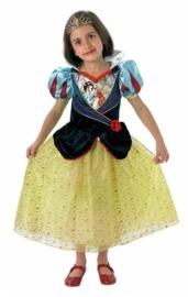 Disney: Kids Snow White Shimmer Dress - (Medium)