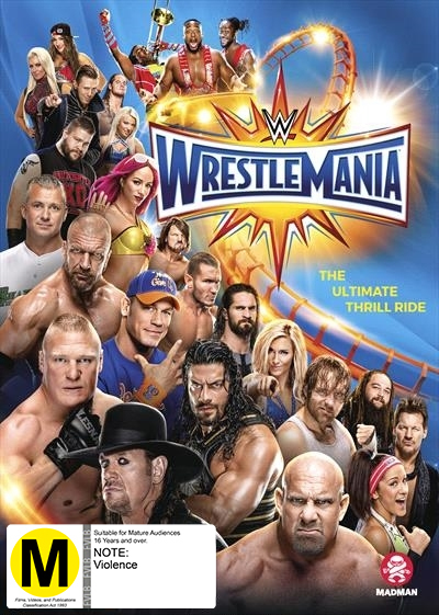WWE: Wrestlemania XXXIII on DVD image