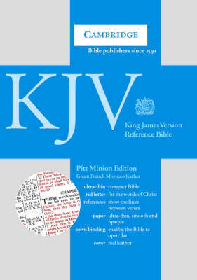 KJV Pitt Minion Reference Edition, R183 Green French Morocco Leather: KJV Pitt Minion Reference Edition, R183