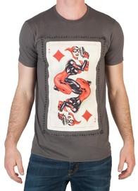 DC Comics Harley Quinn Card T-Shirt (Large)