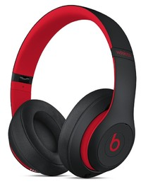 Beats: Studio3 Wireless Over-Ear Headphones - The Beats Decade Collection - With Pure Active Noise Cancellation - Defiant Black/Red
