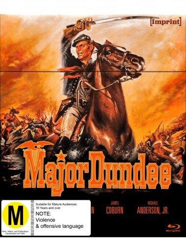 Major Dundee (Imprint Collection # 11) Blu Ray on Blu-ray