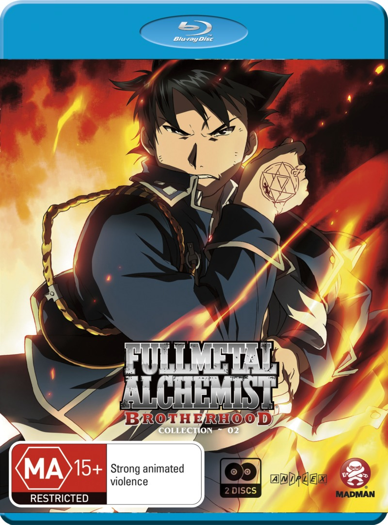 Fullmetal Alchemist: Brotherhood Collection 2 (Ep 14 - 26), (2 Disc Set) on Blu-ray image