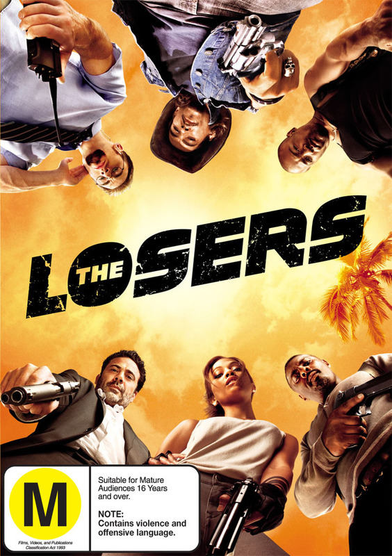 The Losers on DVD