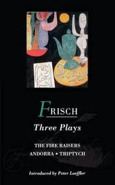 Frisch Three Plays by Max Frisch image