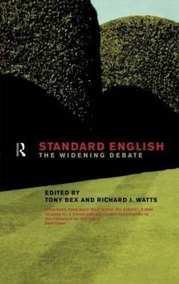 Standard English by Tony Bex image