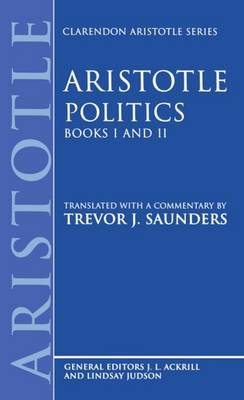 Politics: Books I and II by * Aristotle image