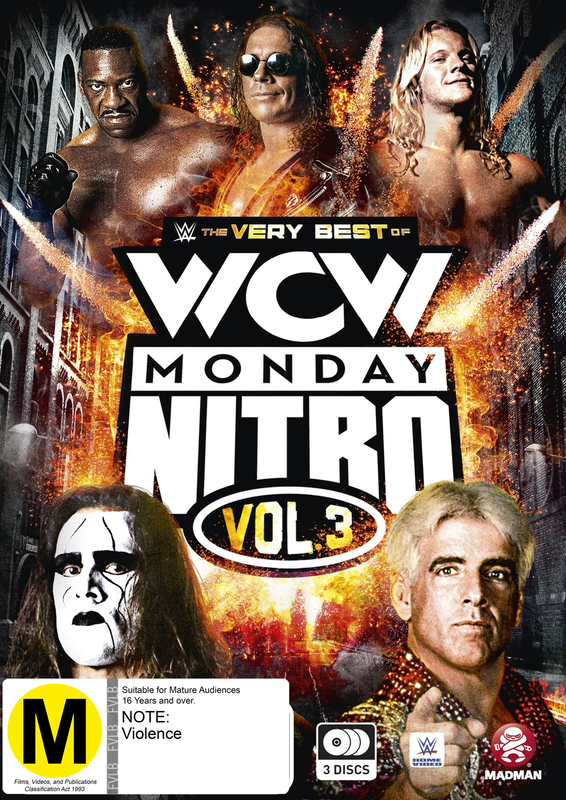 WWE: The Very Best Of WCW Monday Nitro Vol. 03 on DVD