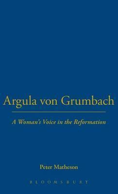 Argula Von Grumbach image