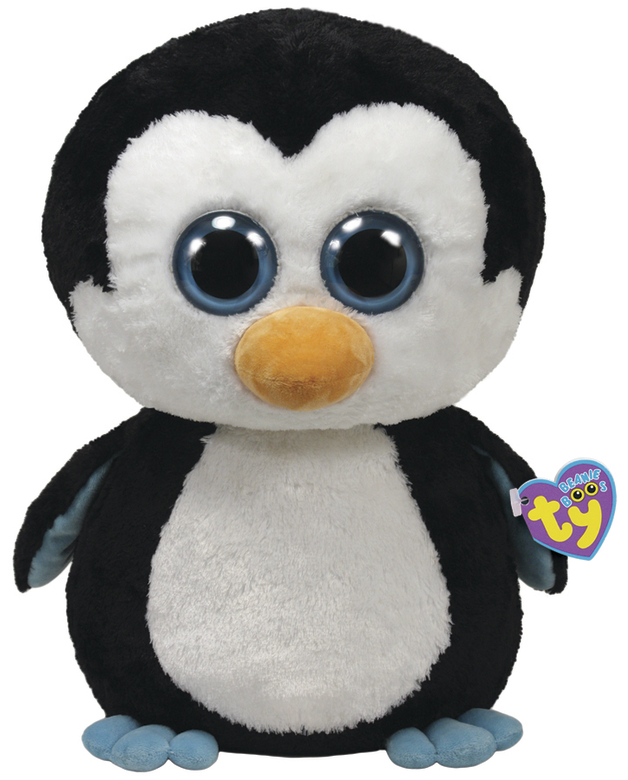 Ty Beanie Boo's - Large Waddles Penguin