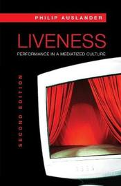 Liveness by Philip Auslander image