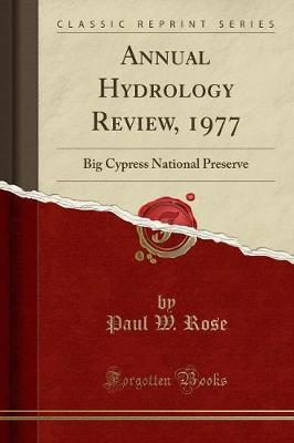 Annual Hydrology Review, 1977 by Paul W Rose image