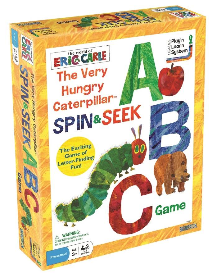 Eric Carle: VHC Spin & Seek - ABC Game image