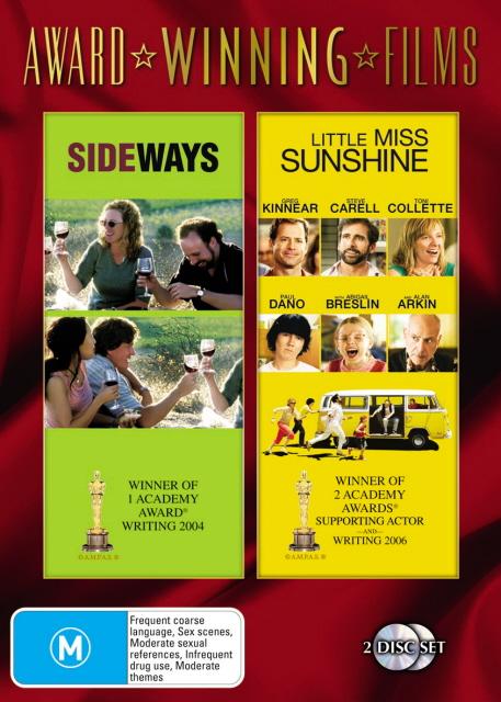 Sideways / Little Miss Sunshine (Award Winning Films) (2 Disc Set) on DVD image