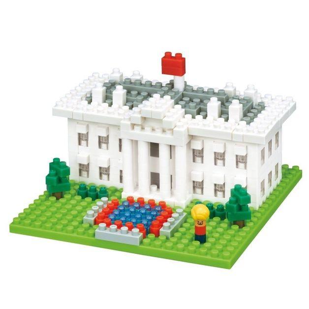 nanoblock: Sites To See Series - White House