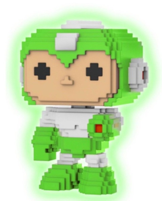 Mega Man 8-Bit (Gyro Attack Glow) - Pop! Vinyl Figure