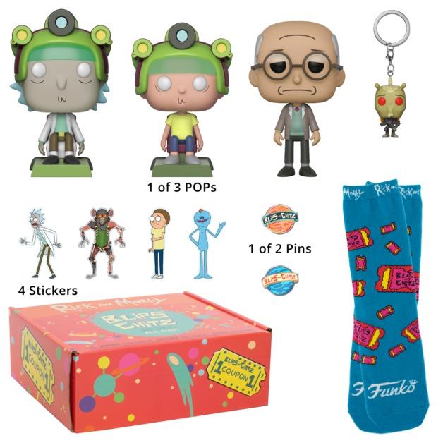 Rick and Morty: Blips & Chitz - Arcade Gift Box