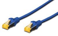 Digitus: S-FTP CAT6A Patch Lead - 0.5M Blue