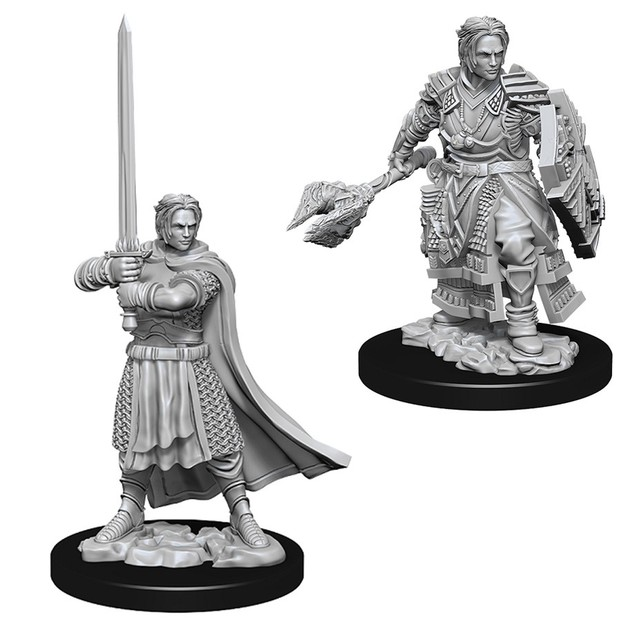 D&D Nolzur's Marvelous: Unpainted Miniatures - Male Human Cleric