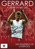 Gerrard - A Year In My Life: The Heartbeat Of Liverpool on DVD