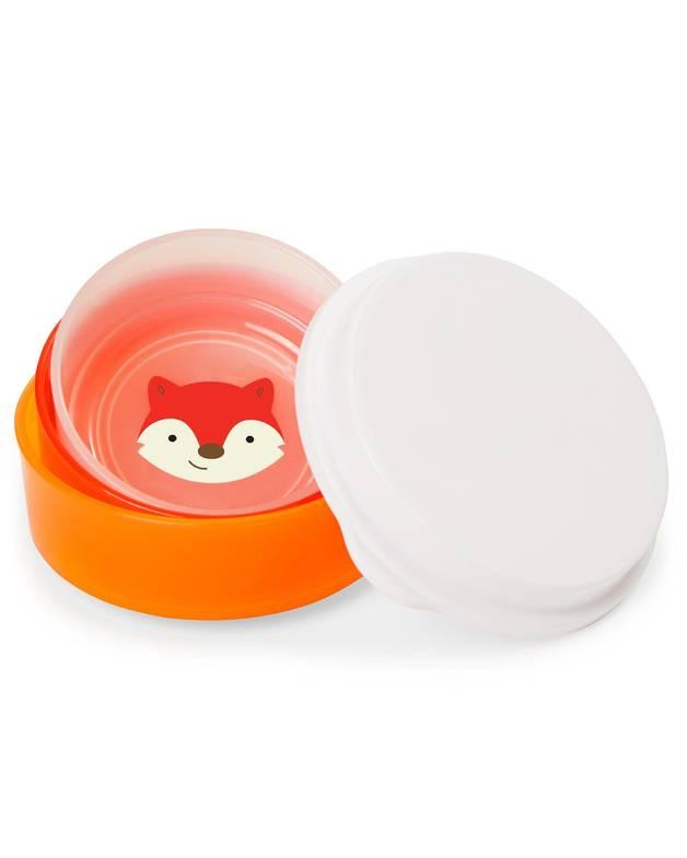 Skip Hop: Zoo - Smart Serve Bowl Set (Fox)