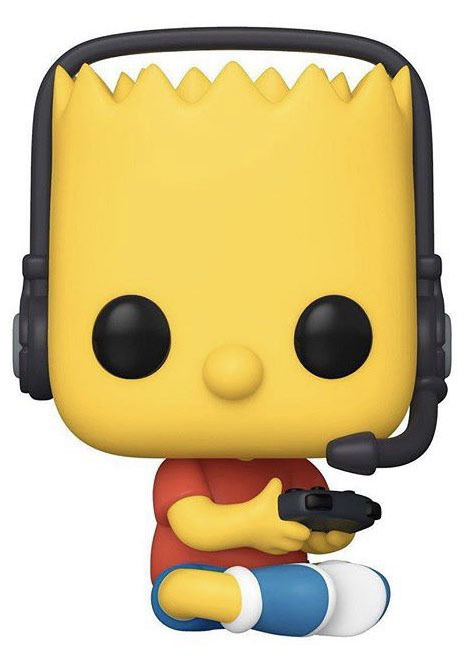 The Simpsons - Bart (Gamer) Pop! Vinyl Figure
