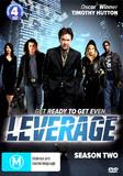 Leverage - Season 2 (4 Disc Set) on DVD