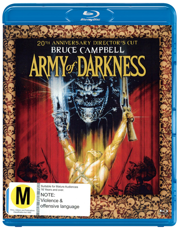 Army of Darkness - 20th Anniversary Director's Cut on Blu-ray
