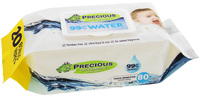 Precious - Water Wipes (80 Wipes, Carton 12) image