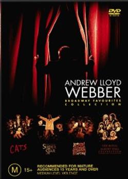 Andrew Lloyd Webber - Broadway Favourites (4 Disc Set) on DVD image