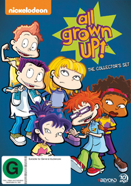All Grown Up Collector's Set on DVD image